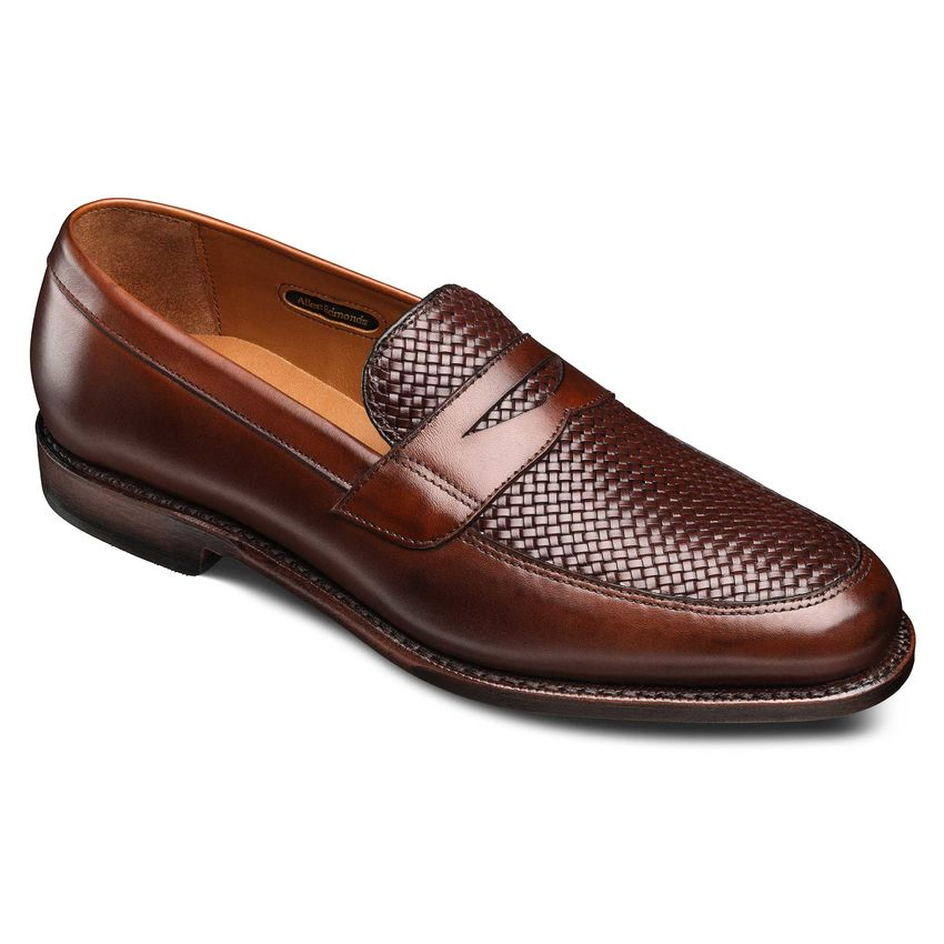 Allen Admonds Lake Bluff Weave Dress Loafers