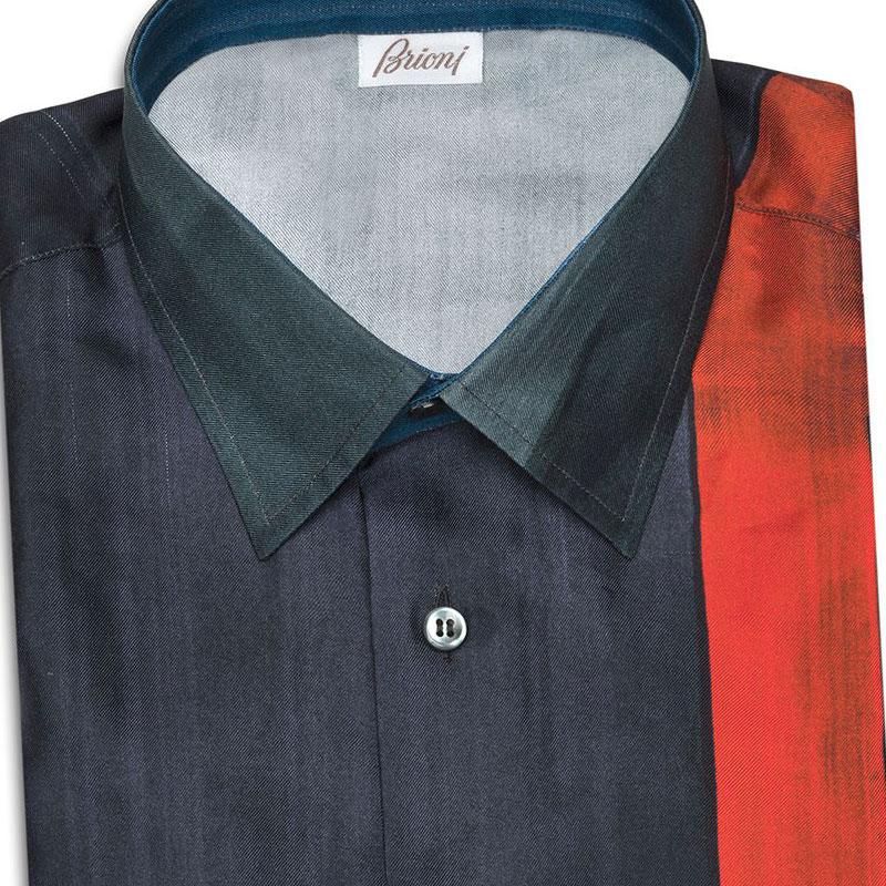 Brioni Silk Shirt Spring Summer